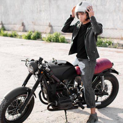 wearing motorcycle helmet after a hair transplant